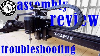 X-carve Cnc: Assembly, Review And Troubleshooting