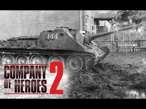 CoH2 - 2v2 Soviet Steel vs German Steel