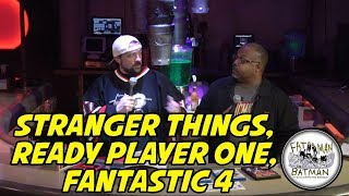 STRANGER THINGS, READY PLAYER ONE, FANTASTIC 4