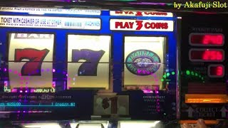 Big Win★IGT Triple Double Diamond $1 Slot Machine Max Bet$3, at San Manuel Casino, Akafuji Slot