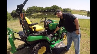 John Deere 1025R 1 Family Subcompact Tractor Walkaround Product Overview