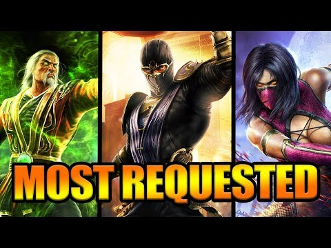 Mortal Kombat 11: Top 10 MOST Requested Characters! (Voting Poll Results!)