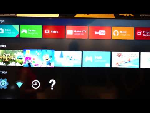 Sony Android TV Demo