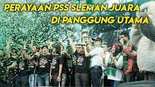 Perayaan Juara Pss Sleman Di Panggung Utama Pemkab Sleman