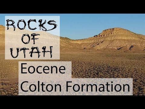 Eocene Colton Formation - Rocks of Utah