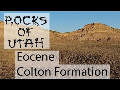 Eocene Colton Formation - Rocks Of Utah