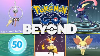 POKÉMON GO BEYOND! MASSIVE UPDATE w/ GEN 6, LEVEL 50, SEASONS & MORE!