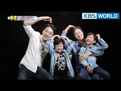 """GOODBYE"" Seoeon & Seojun,..(teary)[The Return of Superman/2018.04.15]"