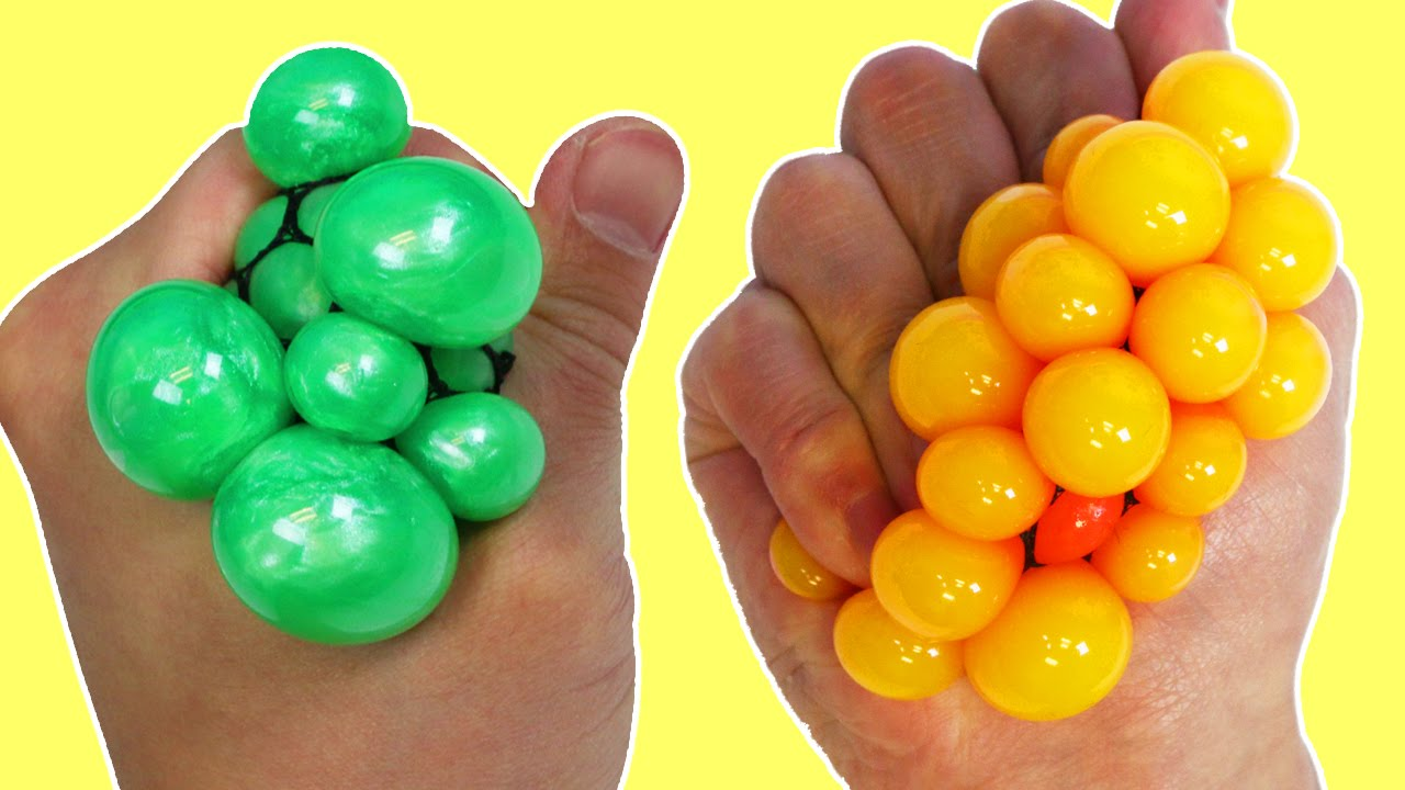Squishy Ball Slime : DIY Slime Squishy Stress Balls! How to Make an AWESOME Stress Ball! - YouTube