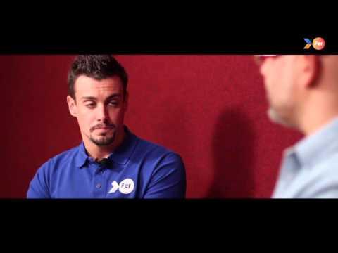 """FER 2015 - """"Crec en tu"""" (Creo en ti) José Antonio Marí y su entrenador"""