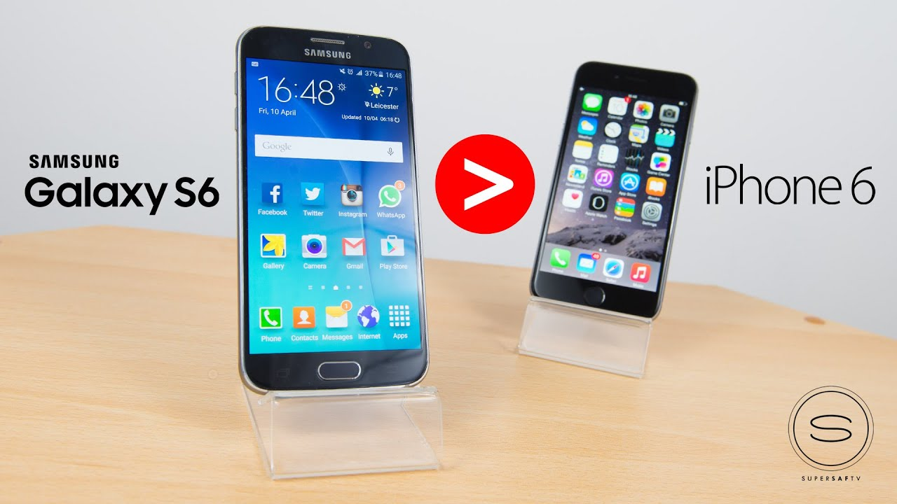Top 5 Reasons why Samsung Galaxy S6 is Better than iPhone ...