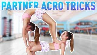 Easy Partner Acro Tricks | Jaz and Brooke Video