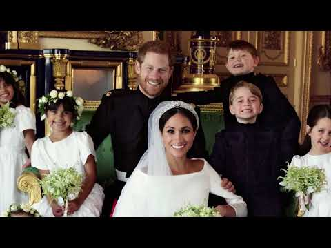 Duke and Duchess of Sussex official wedding photos released