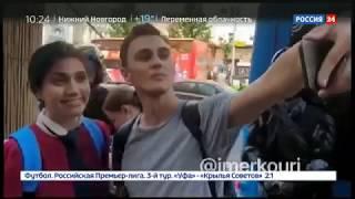 На несанкционированный митинг в Москве пришли не только москвичи