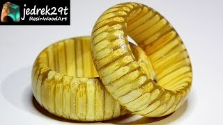 How to make a RING � with Toothpicks and Resin / ART RESIN