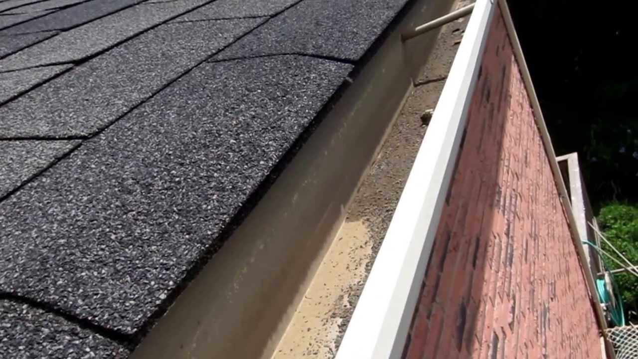 Gutter Inspection Without Climbing Up The Roof Youtube