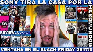 ¡¡¡OFERTAS BLACK FRIDAY 2017 PS4!!! Hardmurdog - Noticias - Ps4 - 2017 - Español