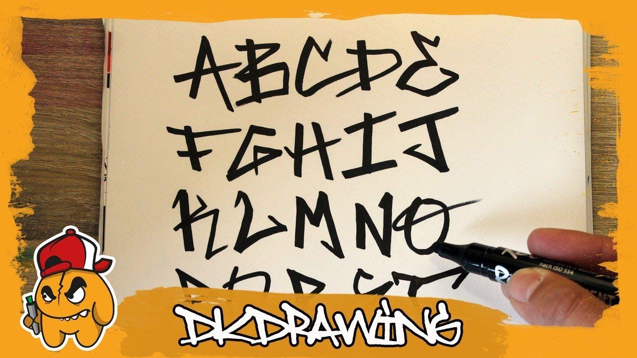 how to make a graffiti tag