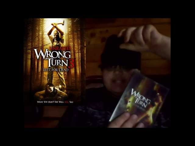 Horror Show Movie Reviews Episode 63: Wrong Turn 3: Left for Dead Travel Video