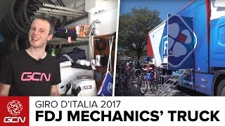 FDJ Mechanics' Truck Tour | Giro d'Italia 2017