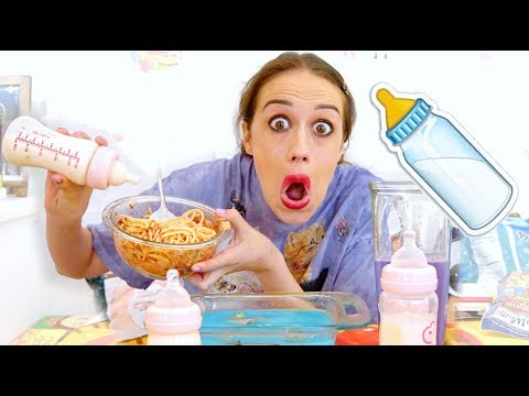 COOKING MY FAVORITE FOOD WITH MY BREAST MILK!
