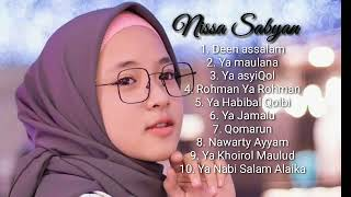 Gambar cover NISSA SABYAN FULL ALBUM 2018 ~ Lagu Sholawat Nabi bikin Hati Adem