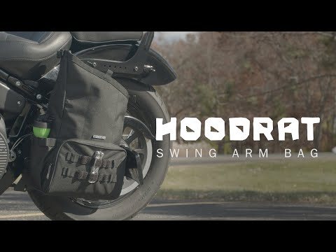 Kuryakyn Hoodrat Swing Arm Bag