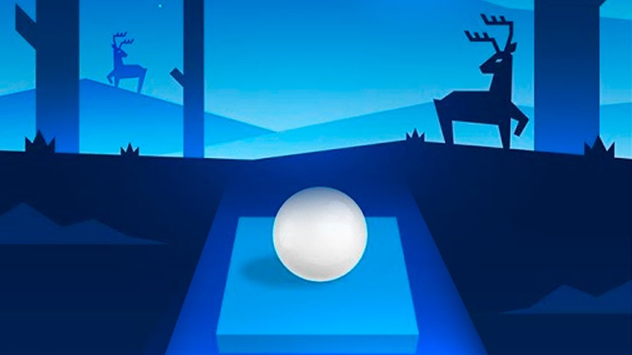 Beat Hopper (Android / iOS Gameplay) Bounce Ball to The Rhythm