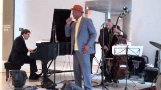 "Reggie Goings at the Seattle Art Museum ""Art of Jazz"" concert"