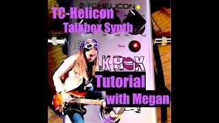 Amelia Airharts - Talkbox Tuesday - TC-Helicon Talkbox Synth Tutorial With Megan