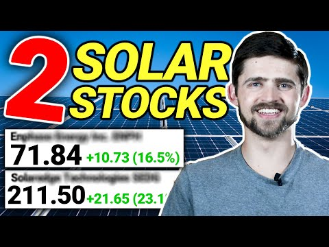 Best Solar Stocks to Invest in 2020 (My Top 2 Solar Stocks)