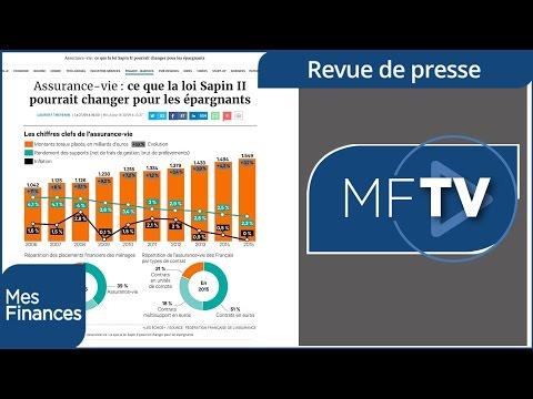 Revue de presse semaine 40 : baisse d'impôt en 2017 et la loi Sapin II sur l'assurance vie