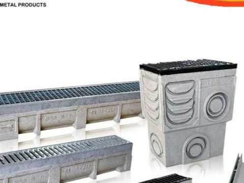 trench drains with stainless steel cover plate manufacturer