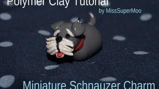 Polymer Claytorial ~ Schnauzer Puppy