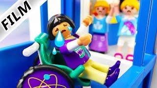 Playmobil Film deutsch | SUPERKLEBER AN ROLLSTUHL - böser Prank an Becky im Fahrstuhl |Familie Vogel