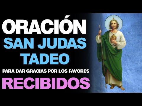 🙏 Oración a San Judas Tadeo PARA DAR GRACIAS POR LOS FAVORES RECIBIDOS 🙇