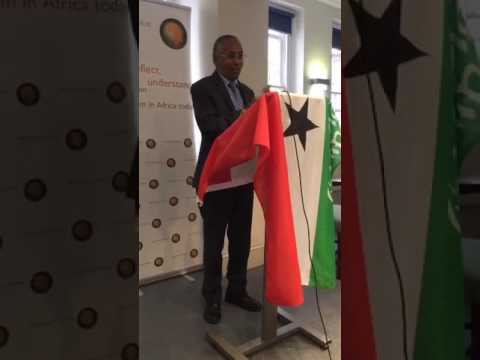 Somaliland Minister of Foreign Affairs, HE Dr Sa'ad Ali Shire, speaking ARI London