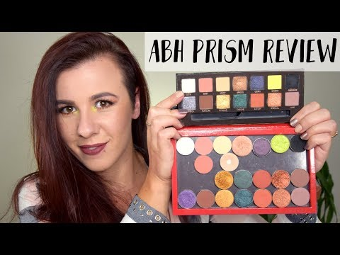 Anastasia Beverly Hills Prism Palette Review and Dupes