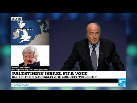 ISRAEL - Blatter fears suspension vote could set precedent