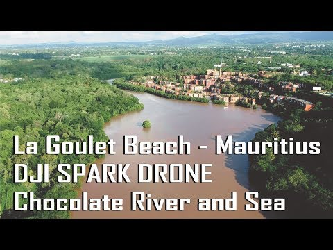 DJI Spark Drone -  La Goulet Beach - Balaclava - Mauritius