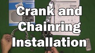 XTR Crankset and Chainring installation