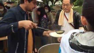 熊本大地震,外国人からの支援活動