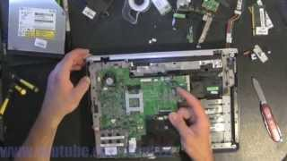 HP PAVILION DV2000 take apart, disassembly, how-to video (nothing left)