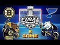 Бостон Брюинз - Сент-Луис Блюз. Финал. Игра 6 | Boston Bruins vs St. Louis Blues. Final. Game 6