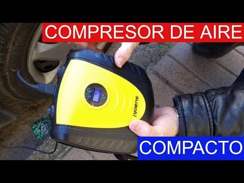 🚗 COMPRESOR DE AIRE Compacto SUAOKI 2019 |Coche|Moto|Bicicleta…
