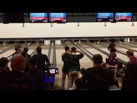 Zach finishes HS Bowling Career with a 200 in NJ State Finals