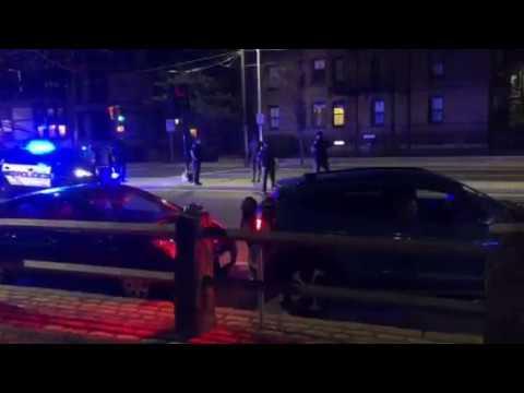 Cambridge police tackle, strike man in Harvard Square