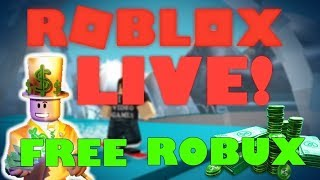 🔴 Live- Playing Random Roblox Games! -Free Robux Giveaway [525 subs!] (WITH VOICE!)