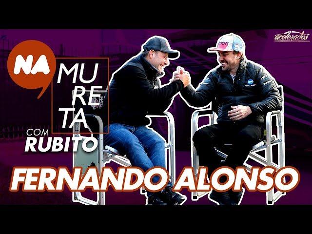 """""""Se eu tiver uma chance em um bom carro, volto para a F1!"""" - Fernando Alonso Na Mureta com Rubito #8"""