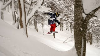This time Henry is going to Japan for some tree skiing. For him thi...